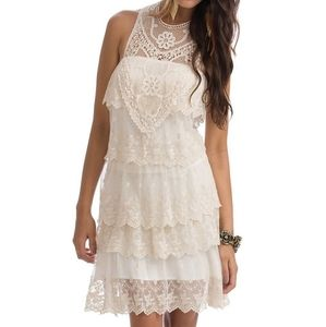 Country Style Lace Dress